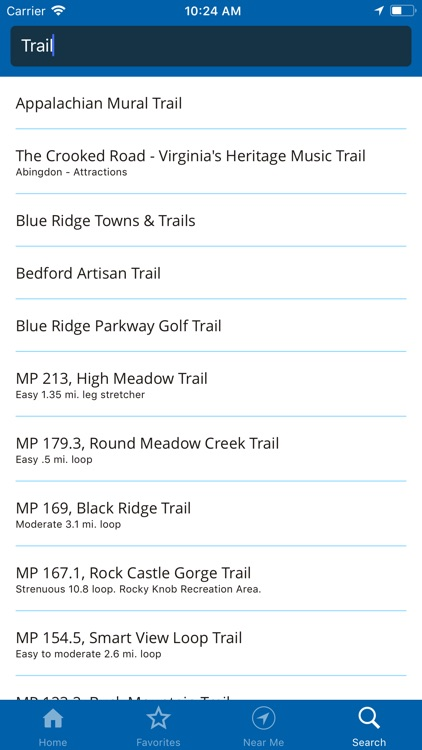Blue Ridge Pkwy Travel Planner screenshot-6