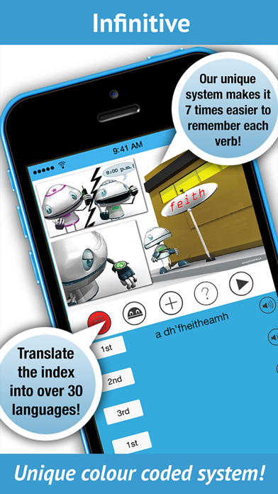 Scottish Gaelic Verbs - Lite | From iEdutainments | Mobile apps store