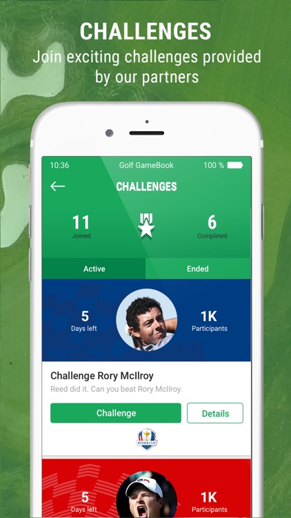 Golf GameBook - Best Golf App screenshot-2