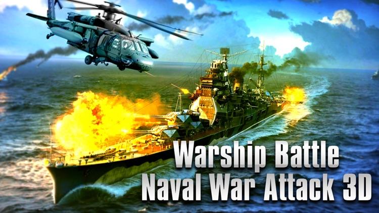 WarShip Battle Naval WarFare screenshot-4