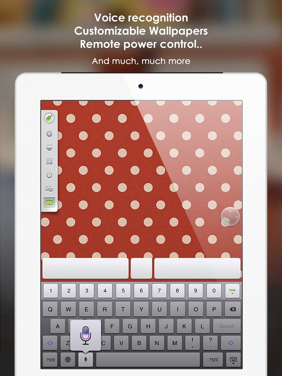 Remote Mouse Pro for iPad Screenshots