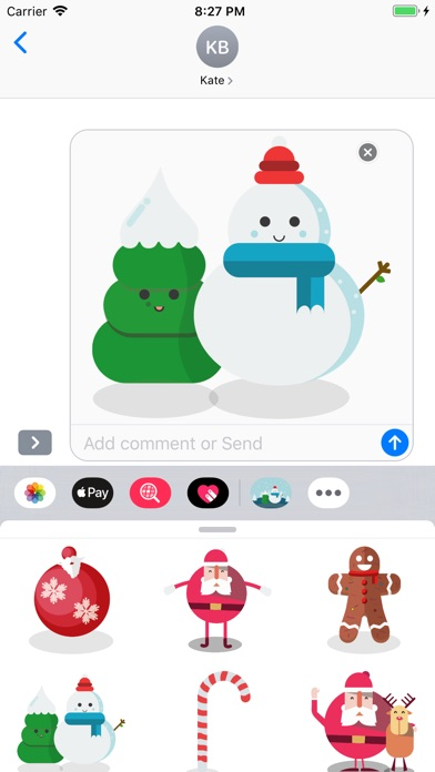Top Christmas Stickers screenshot 3