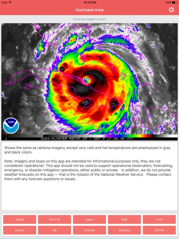 National Hurricane Center Data screenshot 6
