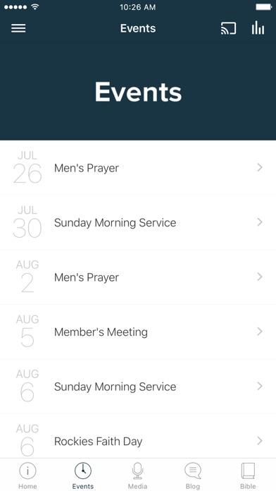 Summitview Community Church screenshot 2