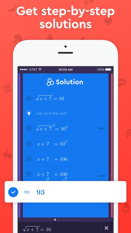Homework helper app