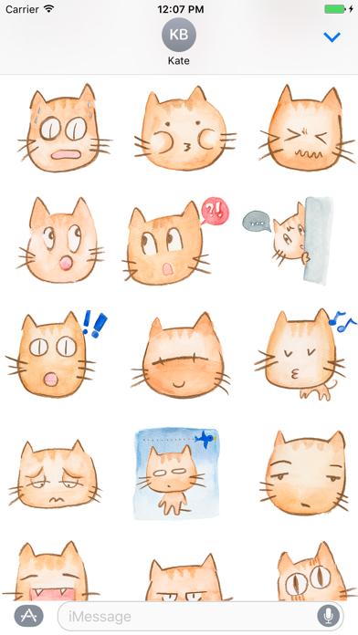 Charlotte The Cat Stickers screenshot one