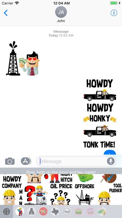 Oilfield Moji-Oilpatch Emoji
