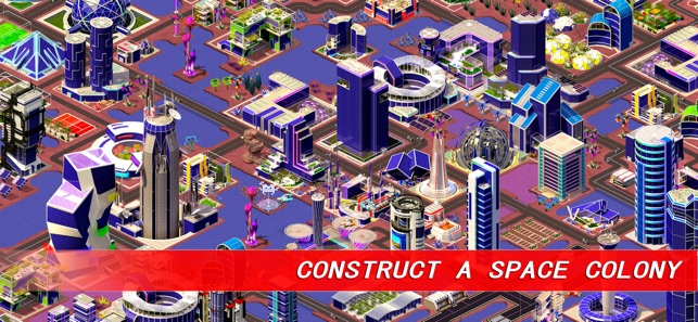 Space City: building game on the App Store