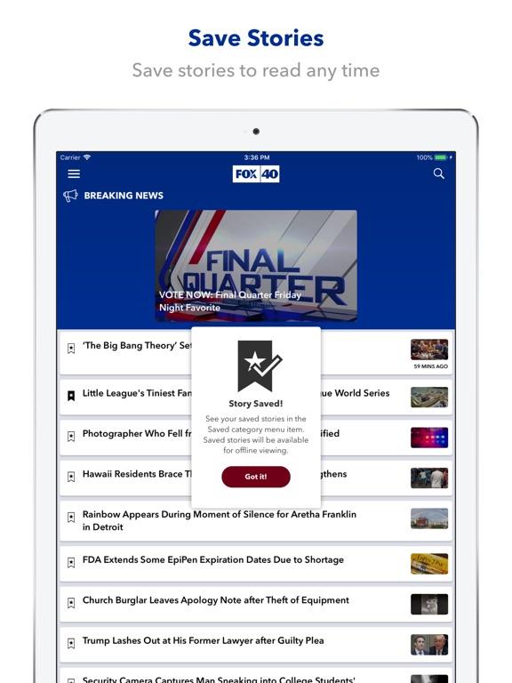 Fox40 News Sacramento App Price Drops