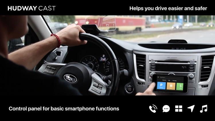 HUDWAY Cast — Safe Driving