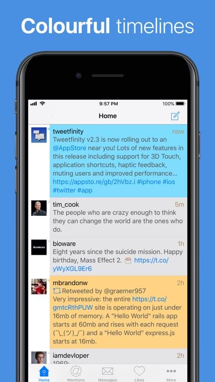 Tweetfinity for Twitter
