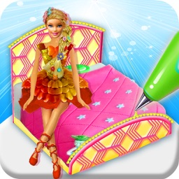 DIY Doll Bed Cake Maker Game! Creative Bakery Chef