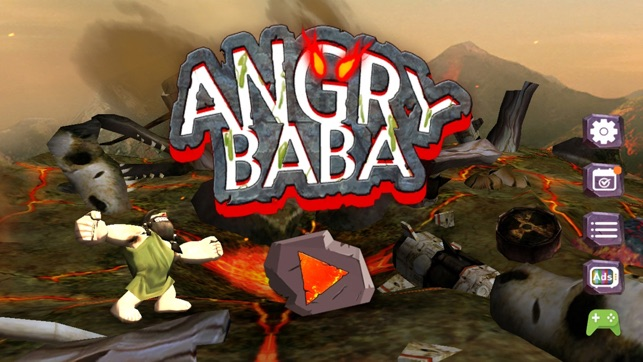 Angry BaBa: Hit & Far away Screenshot