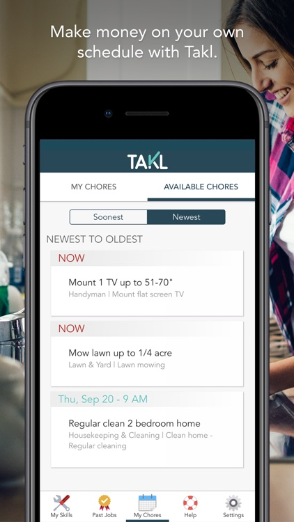 Takl - Home Services On Demand screenshot-9