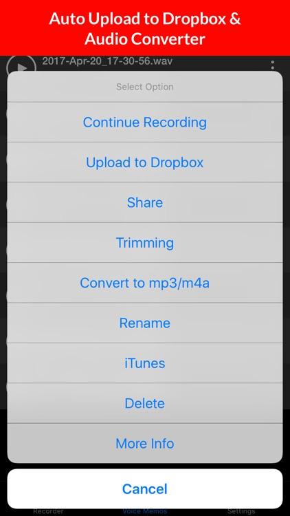 Voice Recorder & Audio Memo + screenshot-3