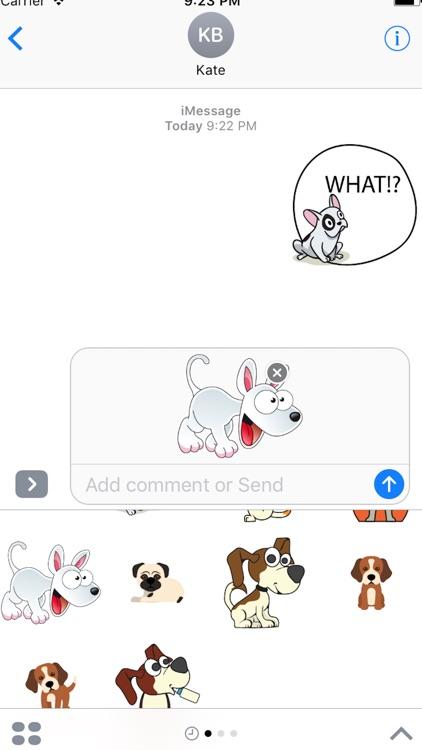 Dog Emojis Stickers