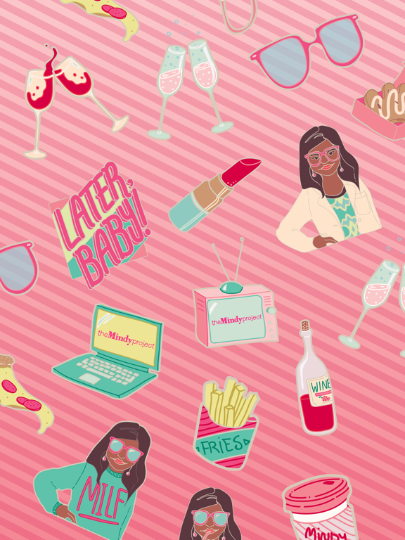 The Mindy Project Stickers screenshot 3