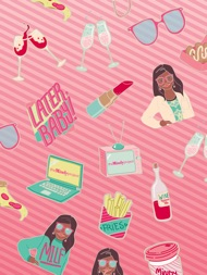 The Mindy Project Stickers ipad images