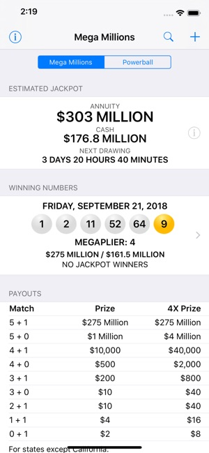 Mega Millions & Powerball on the App Store