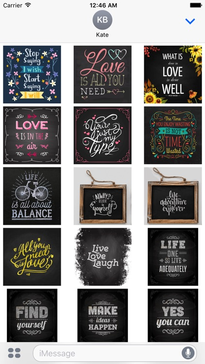 Chalkboard Quotes - Positive & Inspiration & Love