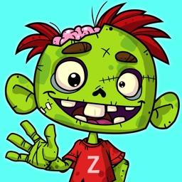 Zedd the Zombie - Grow Your Wacky Friend