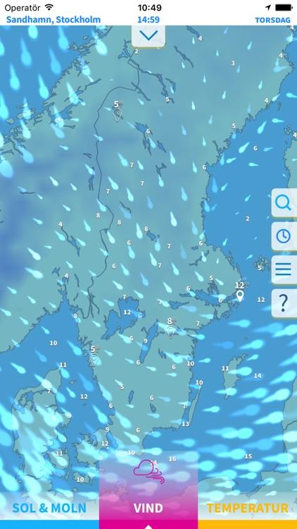 Solklart: med väder från SMHI