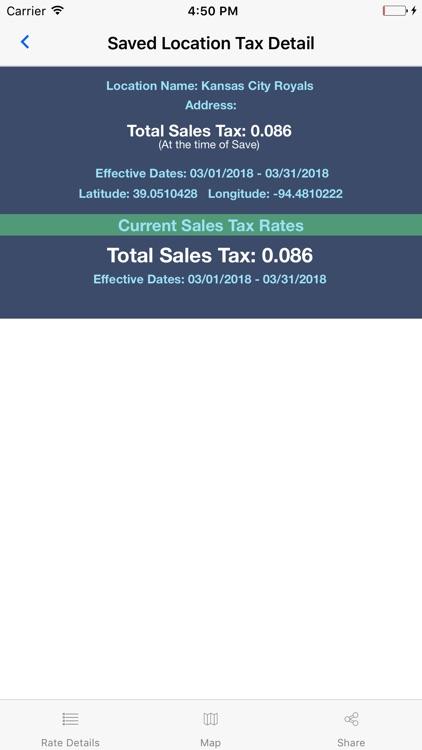 Streamline Sales Tax Rates screenshot-7