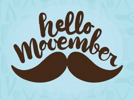 November is the month of Moustache and rightly called No Shave November or Movember