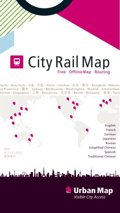 Osaka Rail Map screenshot-4