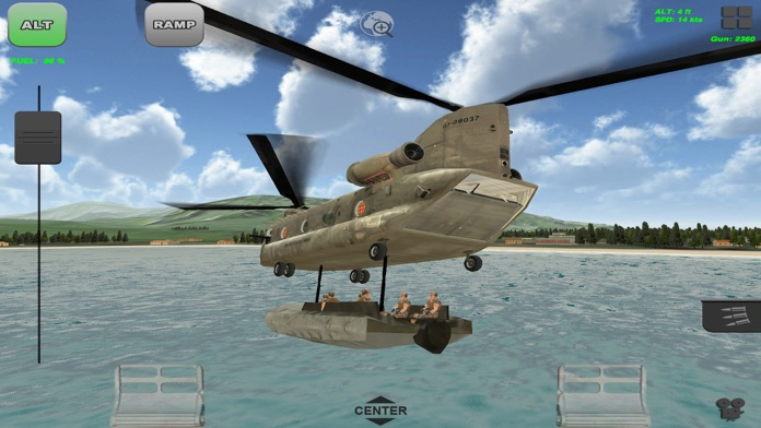 Chinook Ops - Flight Simulator Screenshot
