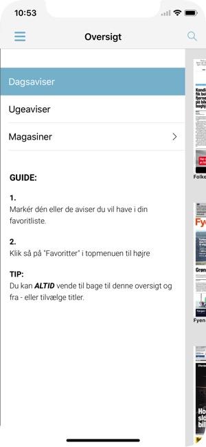 ea58200abc2 Nyhedskiosken i App Store