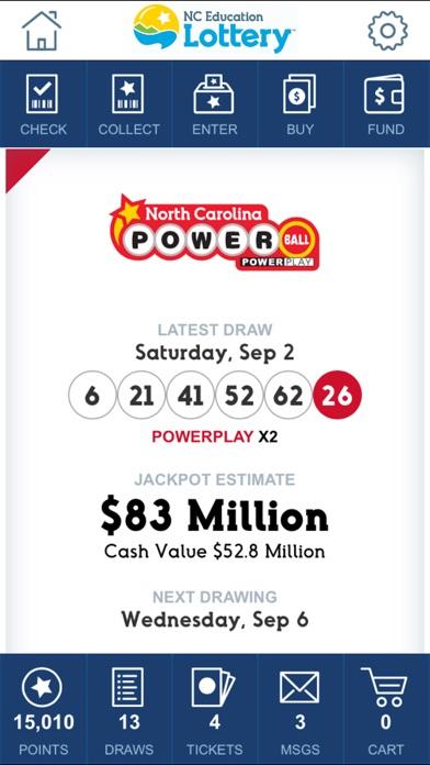 NC Lottery Official Mobile App - AppRecs
