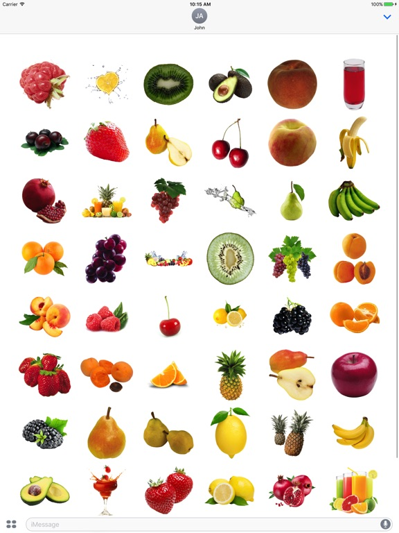 Best Fruits for iMessage screenshot 6