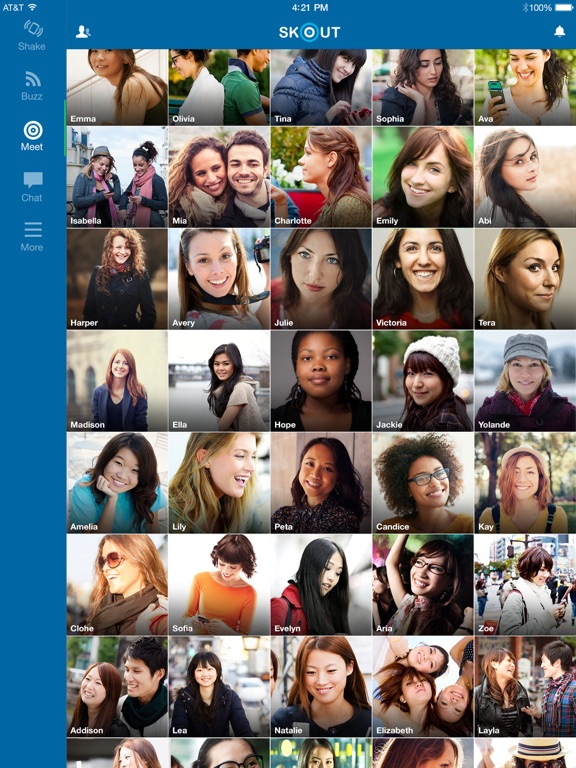 Screenshots of Skout - Chat, Meet New People for iPad