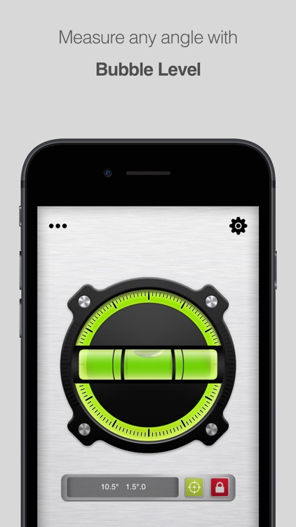 Bubble Level for iPhone