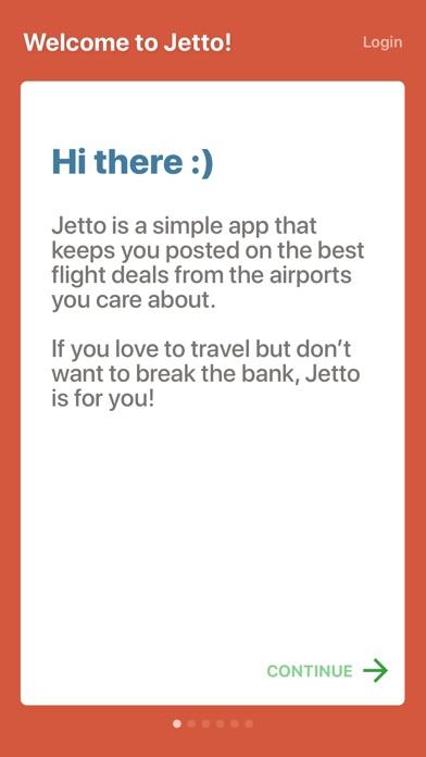 Jetto - Flight Deal Alerts