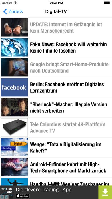 DigiTV News screenshot four