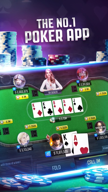 Poker Online: Texas Holdem Card Games LIVE