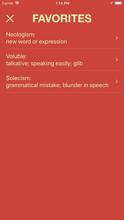 Vocabulary - Learn New Words screenshot-3