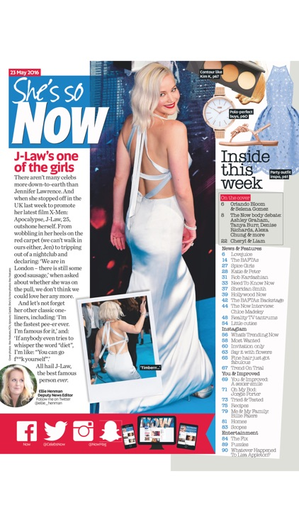Now Magazine International