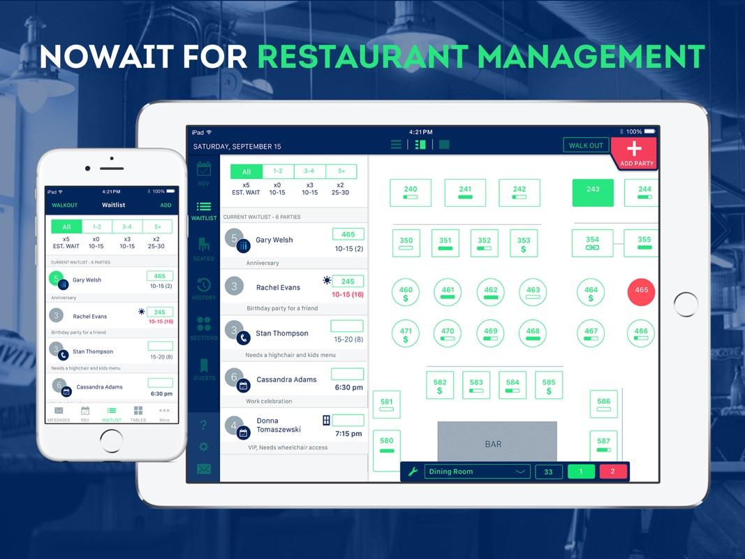 Nowait Restaurant Management - Online Game Hack and Cheat