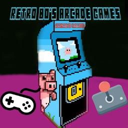 Retro 80's Arcade Games