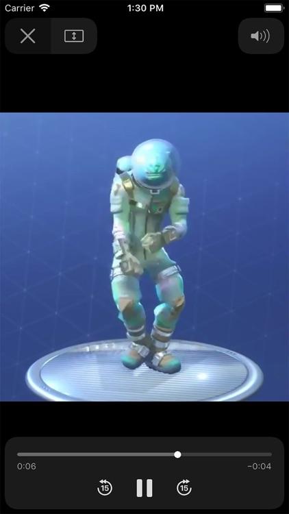 Dances and Emotes for Fortnite