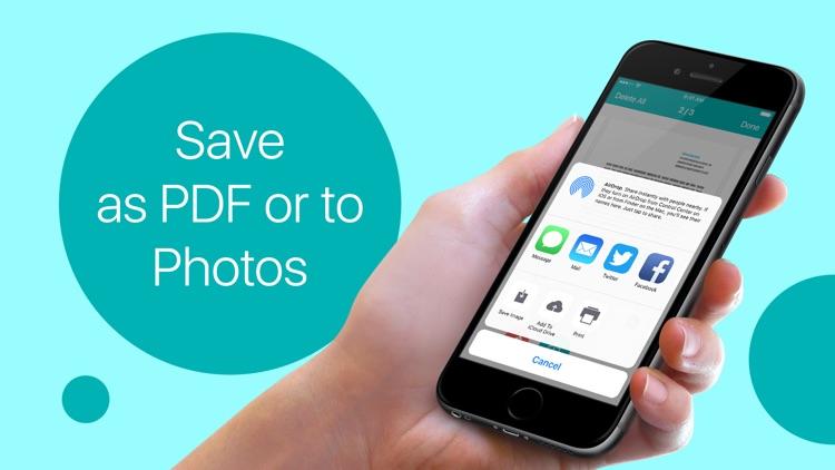 Scanner PDF – Scan Documents screenshot-3