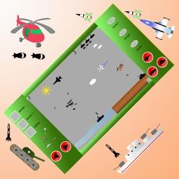 Helicopter vs Enemies Battle Retro (Full)