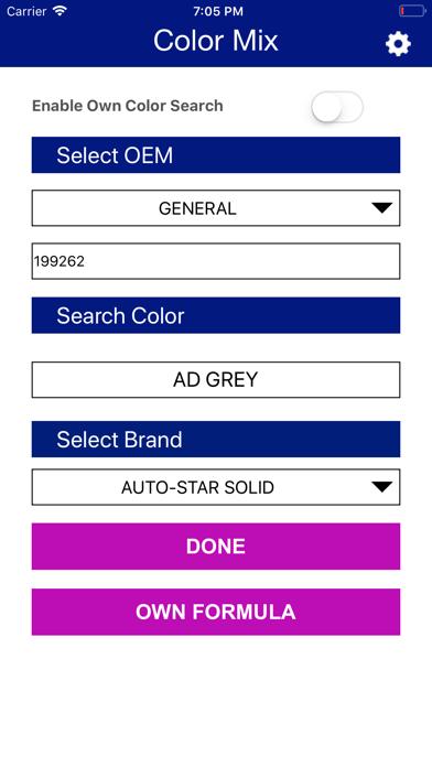 Color Mix - Akzo Nobel India screenshot one
