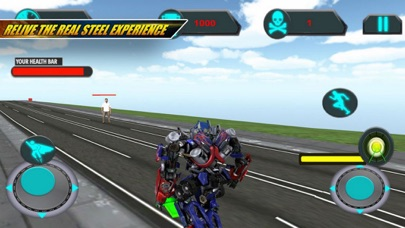 AUTO Robots Battle Alien screenshot 1