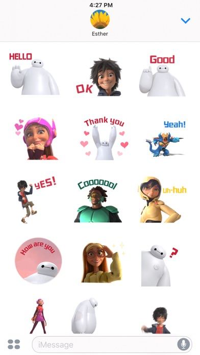 Disney Stickers: Big Hero 6