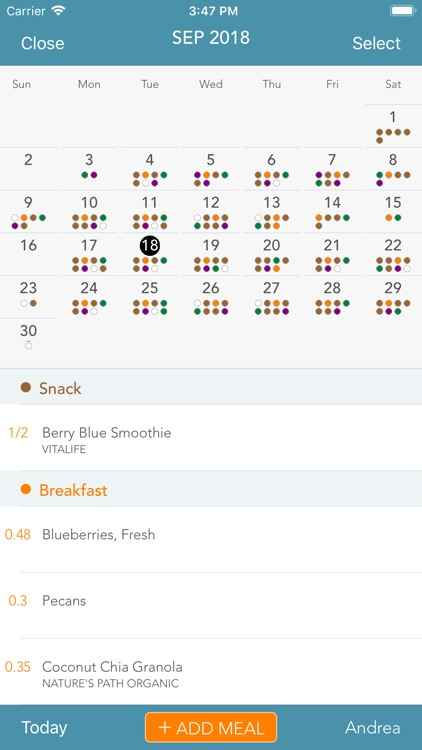 Menu Planner screenshot-2