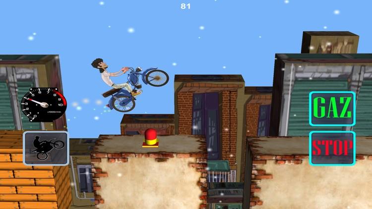 Wheelie Motorcycle screenshot-4